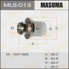 Гайка колеса c заглушкой (плоск.) с шайбой M12*1,5*21 MASUMA