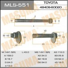 Болт развальный переднего рычага (комплект) MASUMA LAND CRUISER PRADO 120 (2002-2009) J120