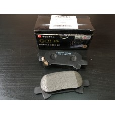 Колодки тормозные задние HSB на Camry V 2.4/3.5 (США)