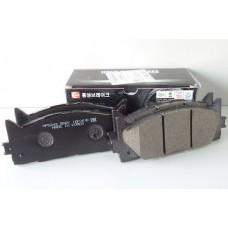 Колодки тормозные передние HSB Camry VI, VII, ES III (2.0, 2.4, 2.5, 3.5) GR-FE, AZ-FE, AZ-FXE, AR-FE