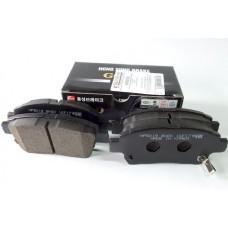 Колодки тормозные передние HSB на 1.4/1.6/1.8/ 2.0 COROLLA IX (2000-2008) E120, E130