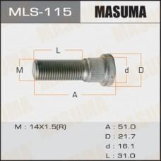 Шпилька ступицы MASUMA на LC100, Sequoia, Tundra, LX570