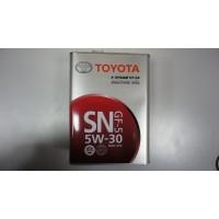 Масло моторное TOYOTA 5W-30 4л API SN/CF ILSAC GF-5 Made in Japan (жесть)
