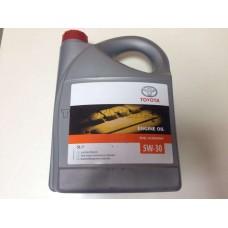 Масло моторное TOYOTA 5W-30 5л синтетика API SL